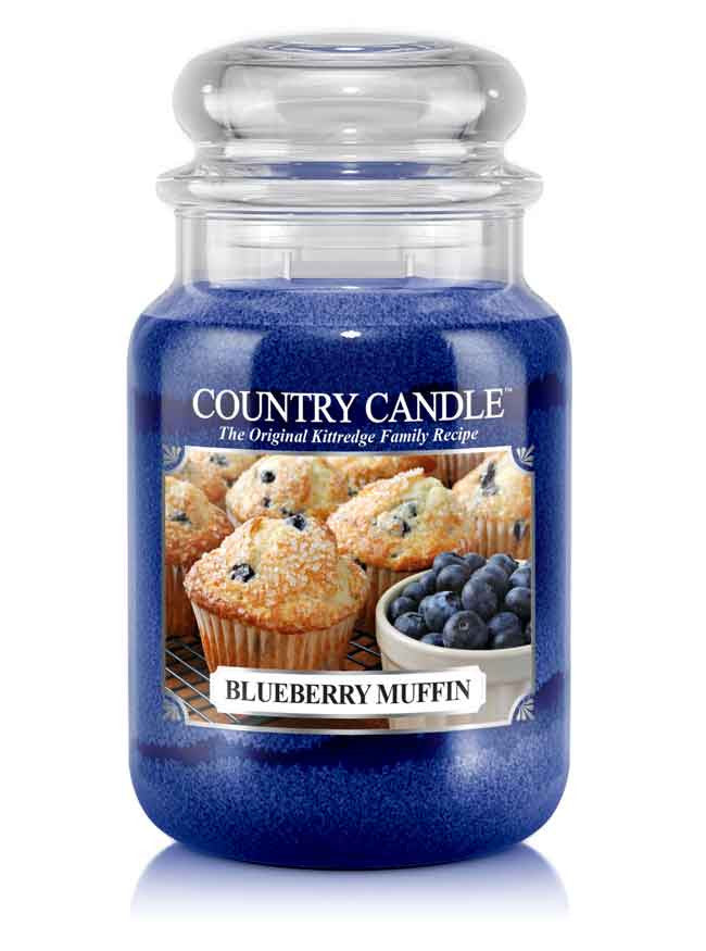 Blueberry Muffin Large Jar Candle