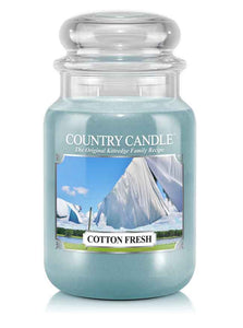 Cotton Fresh Large Jar Candle