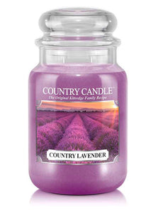 Country Lavender Large Jar Candle