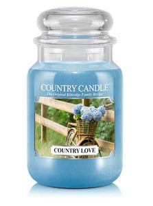 Country Love Large Jar Candle