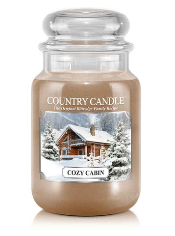 Cozy Cabin Large Jar Candle