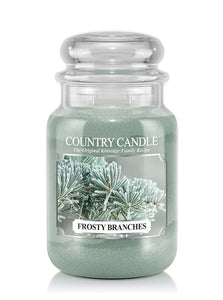Frosty Branches Large Jar Candle