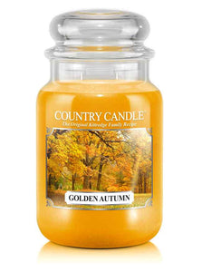 Golden Autumn Large Jar Candle