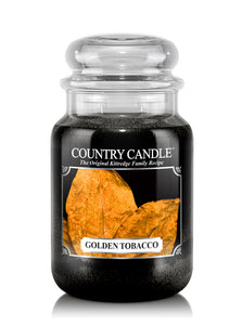Golden Tobacco Large Jar Candle