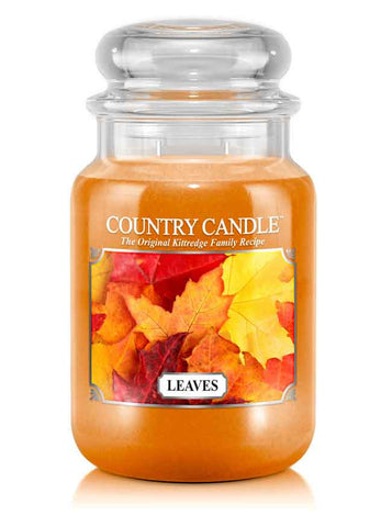 Leaves Large Jar Candle