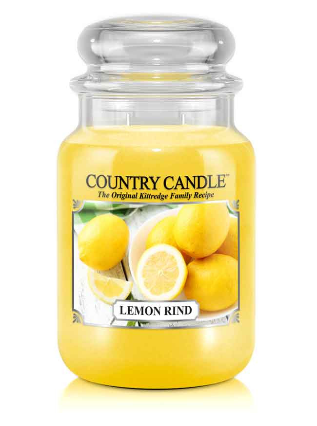 Lemon Rind Large Jar Candle