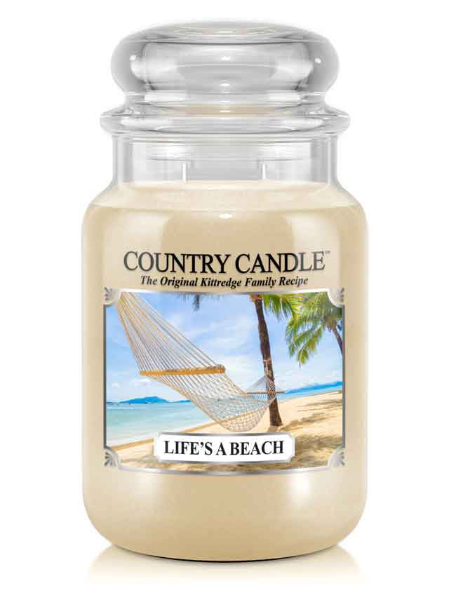 Life's a Beach Large Jar Candle