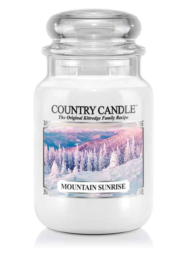 Mountain Sunrise Large Jar Candle