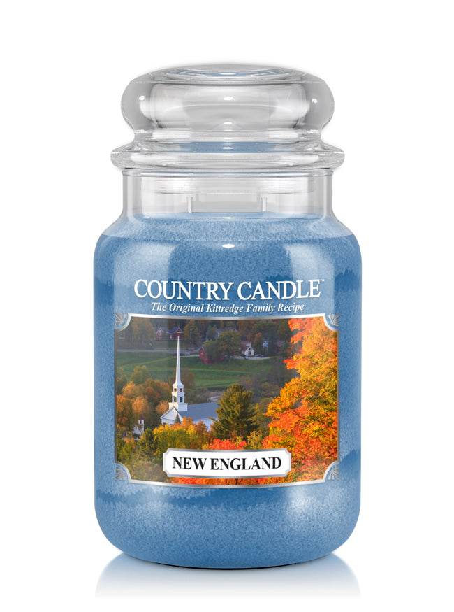 New England Large Jar Candle