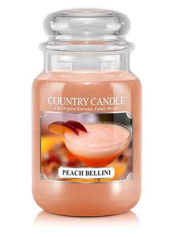Peach Bellini Large Jar Candle