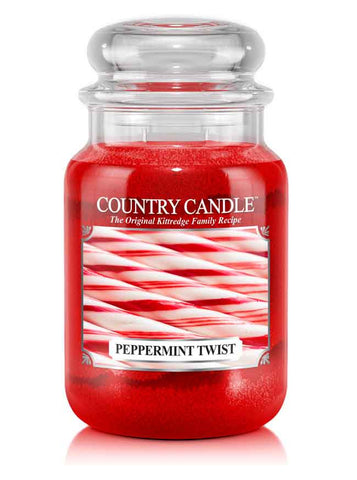 Peppermint Twist Large Jar Candle
