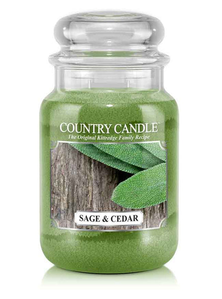 Sage & Cedar Large Jar Candle