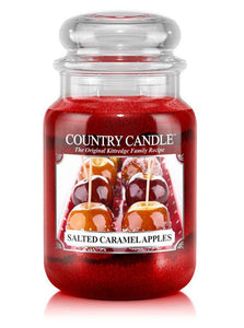Salted Caramel Apple Large Jar Candle