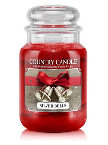 Silver Bells Large Jar Candle