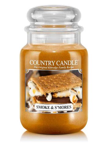 Smoke & S'mores Large Jar Candle