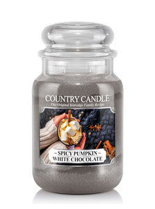 Spicy Pumpkin White Chocolate Large Jar Candle