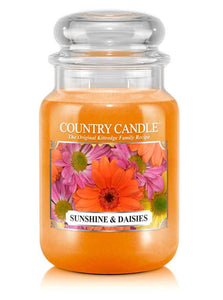 Sunshine & Daises Large Jar Candle