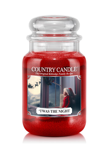 'Twas The Night Large Jar Candle