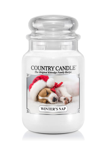 Winter's Nap Large Jar Candle