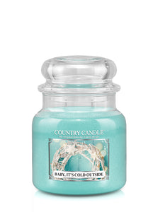 Baby, It's Cold Outside Medium Jar Candle