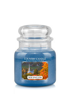 New England Medium Jar Candle