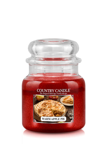 Warm Apple Pie Medium Jar Candle