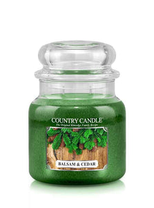 Balsam & Cedar Medium Jar Candle