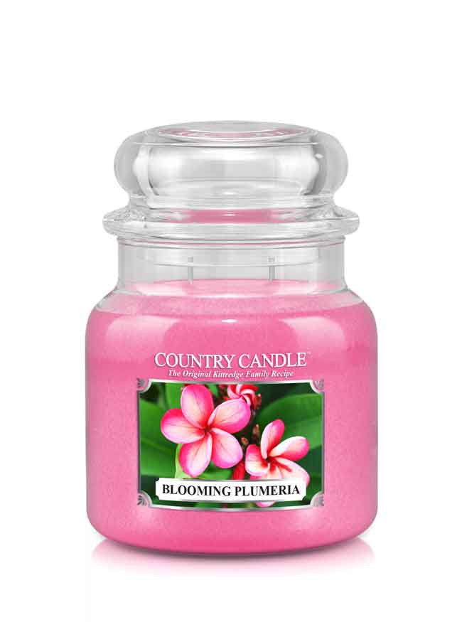 Blooming Plumeria Medium Jar Candle