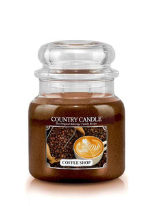 Coffee Shop Medium Jar Candle