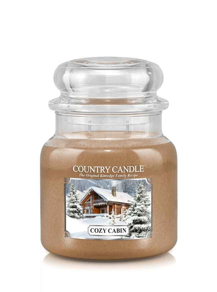 Cozy Cabin Medium Jar Candle
