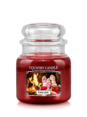Fireside Medium Jar Candle