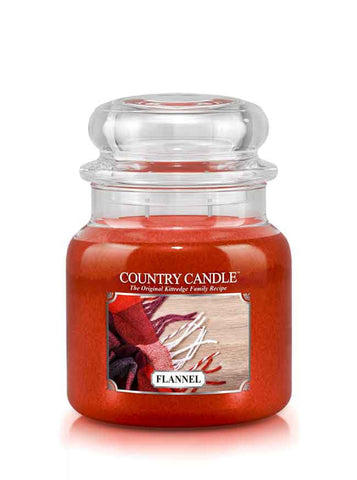 Flannel Medium Jar Candle