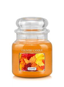 Leaves Medium Jar Candle