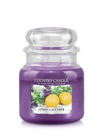 Lemon Lavender Medium Jar Candle