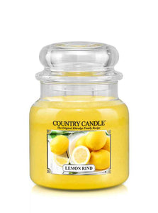 Lemon Rind Medium Jar Candle