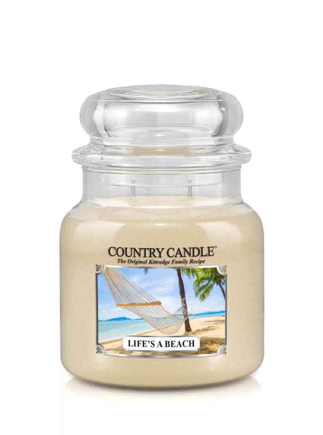 Life's a Beach Medium Jar Candle