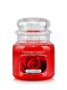 Love & Roses Medium Jar Candle