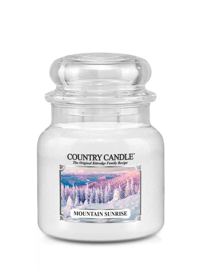 Mountain Sunrise Medium Jar Candle