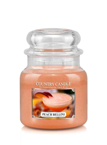Peach Bellini Medium Jar Candle