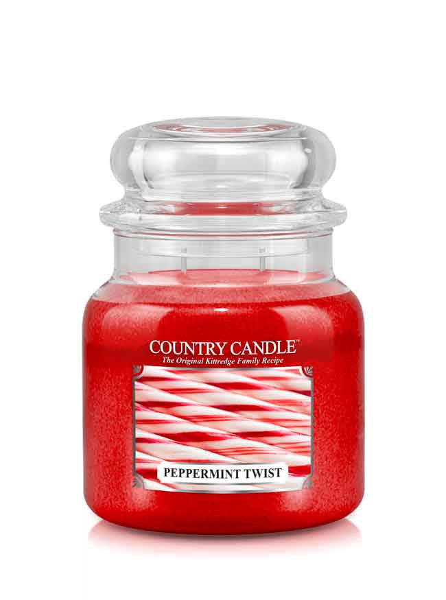 Peppermint Twist Medium Jar Candle