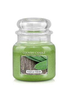 Sage & Cedar Medium Jar Candle