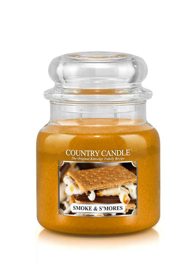 Smoke & S'mores Medium Jar Candle