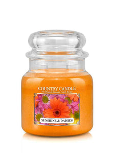 Sunshine & Daises Medium Jar Candle