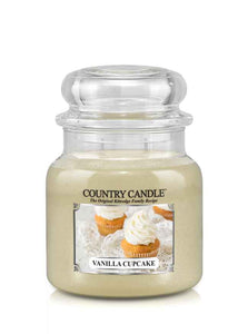 Vanilla Cupcake Medium Jar Candle