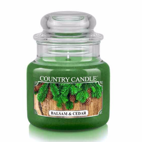 Balsam & Cedar Small Jar Candle