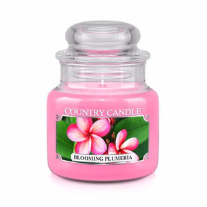 Blooming Plumeria Small Jar Candle
