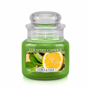 Citrus & Sage Small Jar Candle