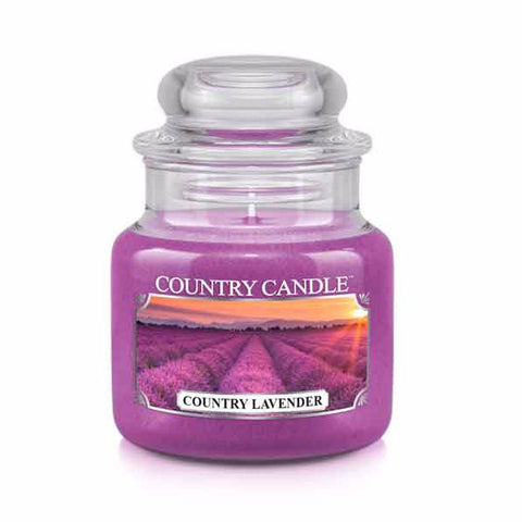 Country Lavender Small Jar Candle