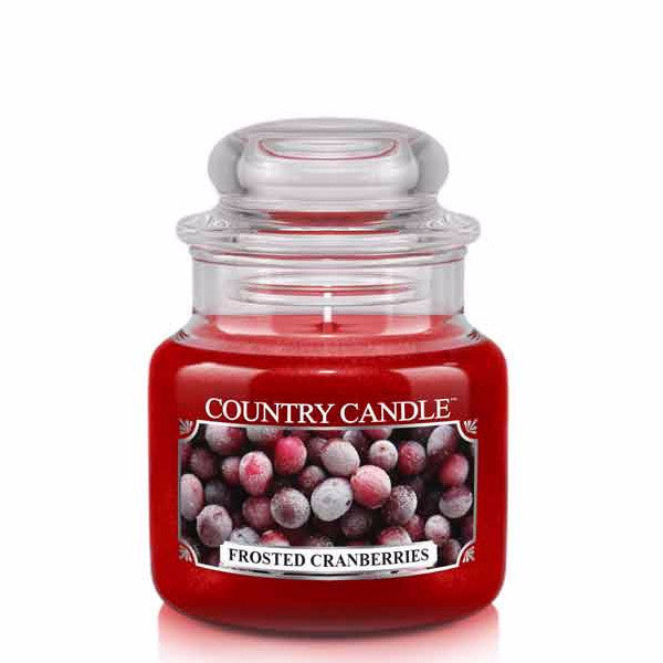 Frosted Cranberries Small Jar Candle
