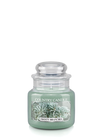 Frosty Branches Small Jar Candle